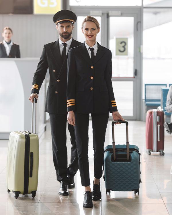 Luchtvaart kleding - portrait - profashionals