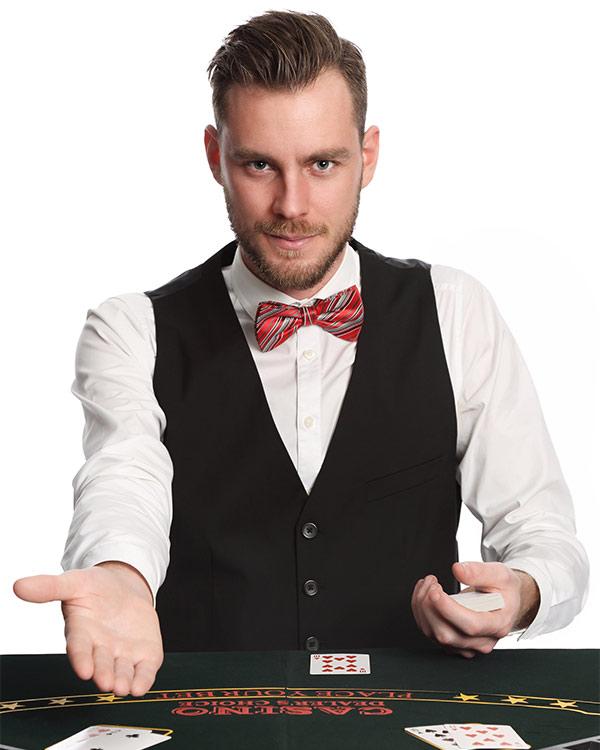 Bedrijfskleding voor casino - profashionals bedrijfskleding
